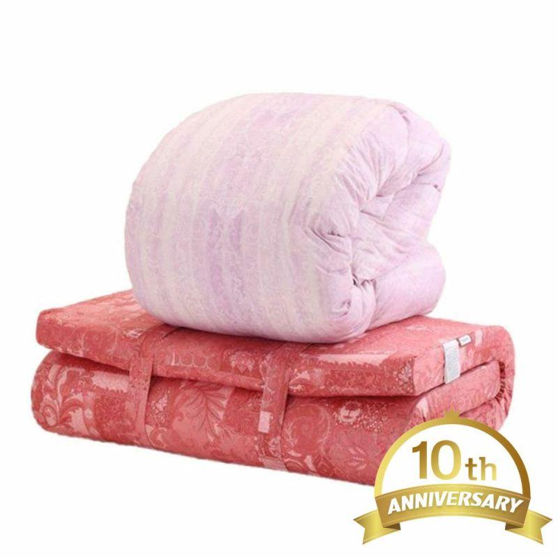 [ムアツ・羽毛][送料無料]西川ストア10周年記念モデル ムアツ・羽毛布団セット